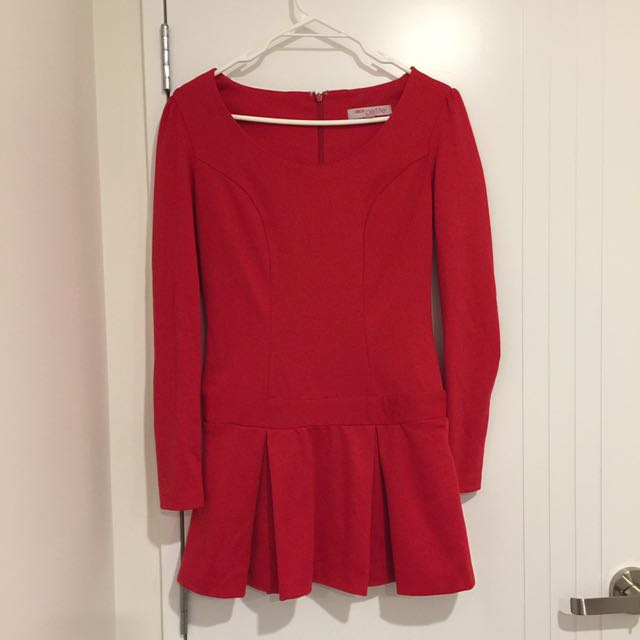 ASOS PETITE Red Dress