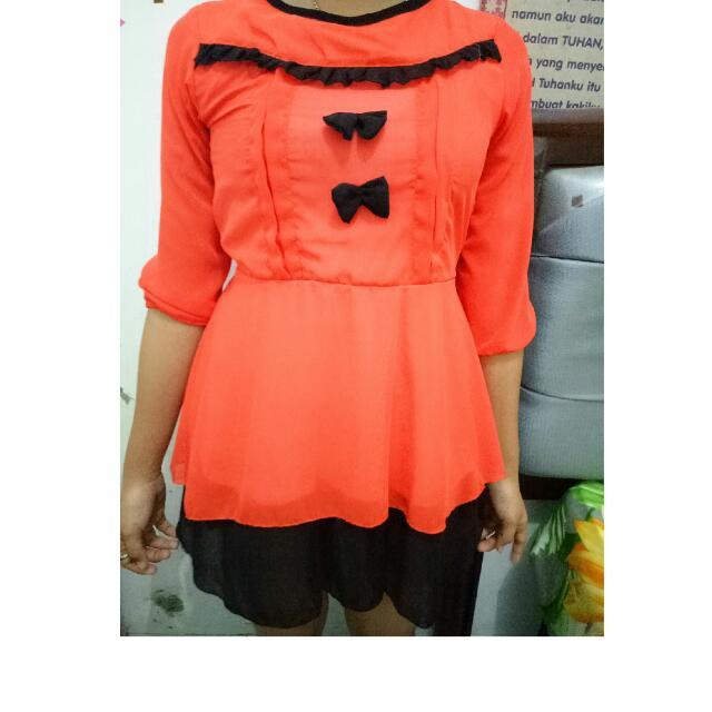Atasan Baju Warna Cerah