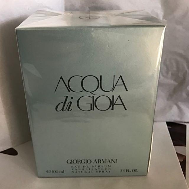 Authentic Acqua Di Gioia Armani Pour Femme Eau De Parfum Brand New