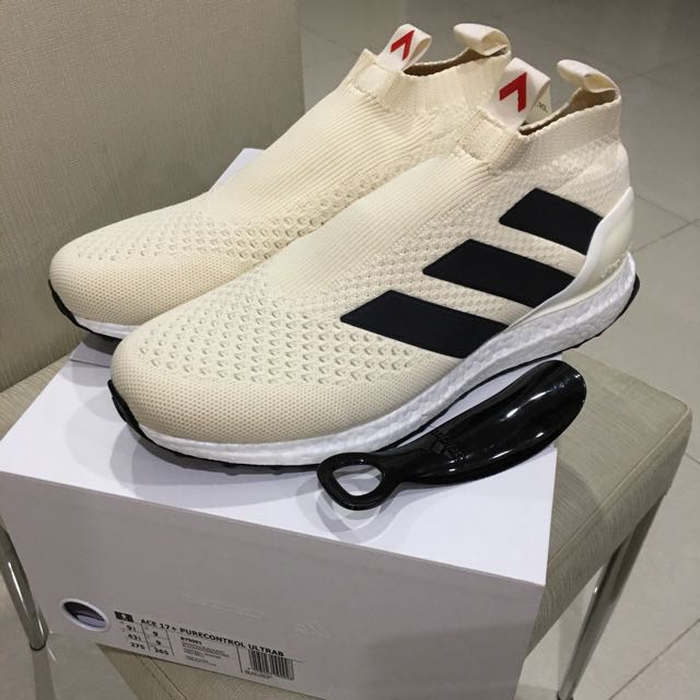 47487854283b Authentic Adidas ACE 16+ PureControl Ultra Boost Champagne Cream, Men's  Fashion, Footwear on Carousell