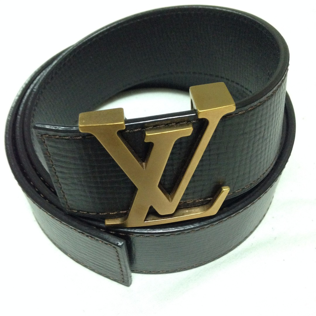 Authentic Brown LV Belt - Never Worn