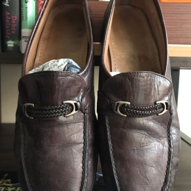 Bally Shoes Slip-on Size 7 Vintage Collection