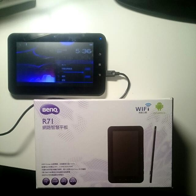BENQ R71 Android 平板Tablet