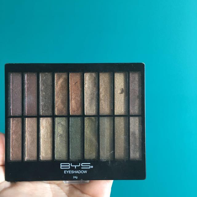 BHS Shimmer Eyeshadow Palette