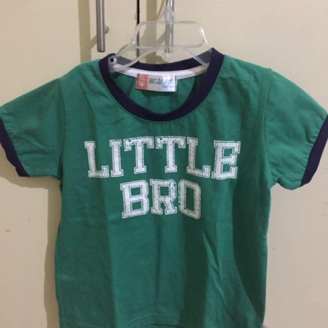 Big & Small Shirt 2T