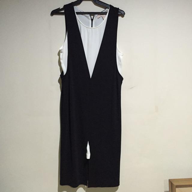 Black And White F21 Dress