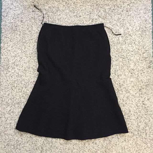 Black Liner Office Skirt (AU6)