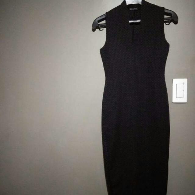 Black Zara Long Dress