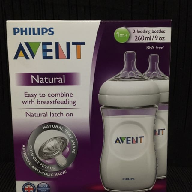 Bnew Avent Natural 9oz 2pk Feeding Bottles