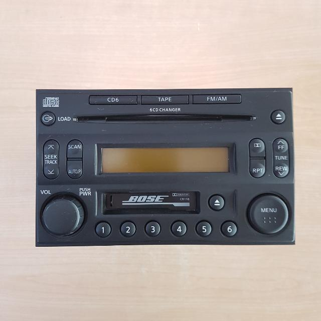 Bose Car Stereo >> Bose Cr11b Car Stereo With Cd N Cassette Electronics Audio On