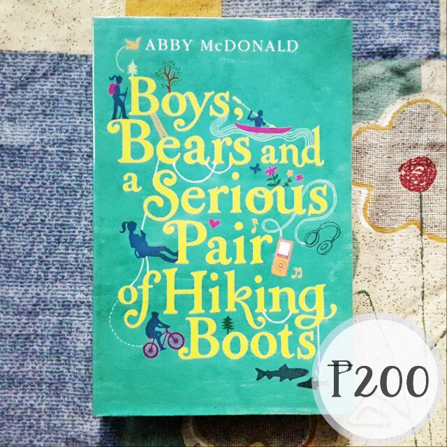 Boys, Bears and a Serious Pair of Hiking Boots by Abby McDonald