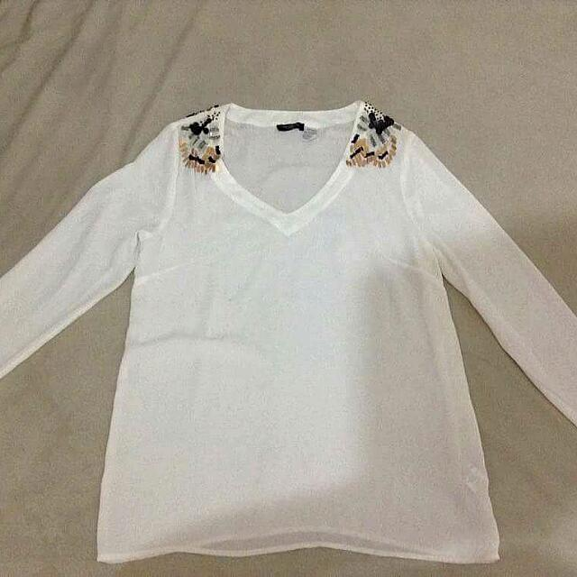 Brand:redoute creation White Longsleeves Legit original 100%