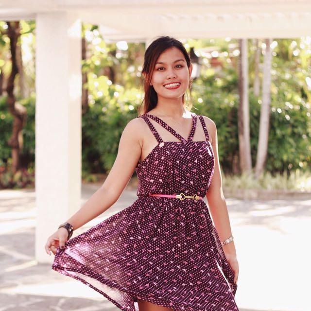 Candie's Printed Dress