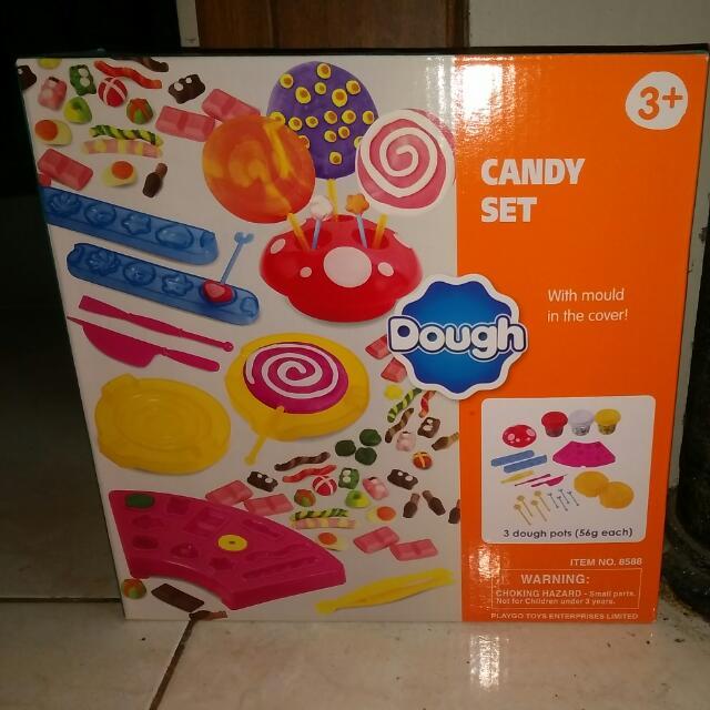 Candy Set Merk Dough