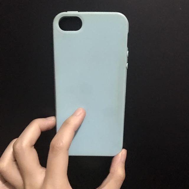Case Iphone 5 Biru Telur Asin