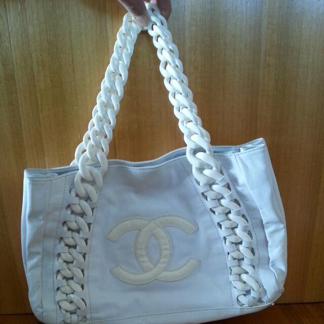 Chanel Replica Handbag - White