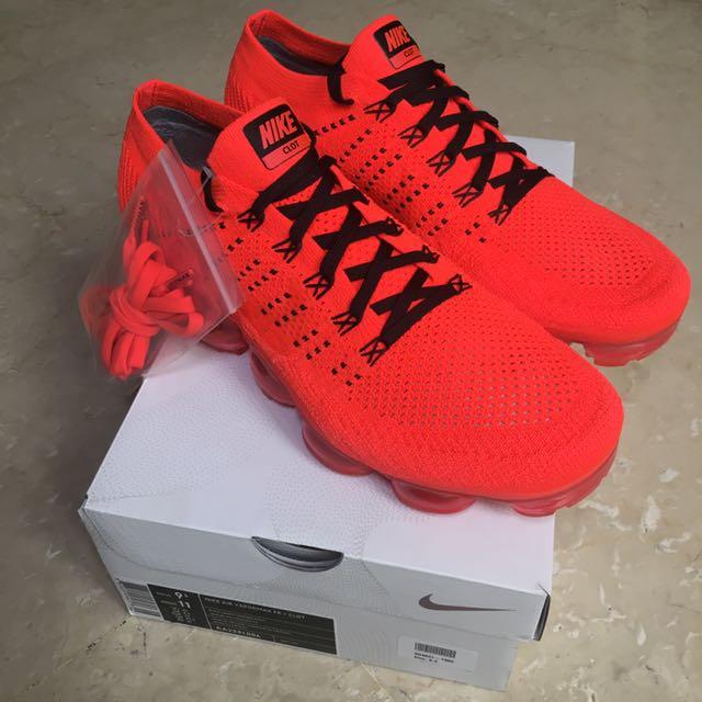 CLOT X Nike Air Vapormax Flyknit (UK8.5 e6f5d3e3b