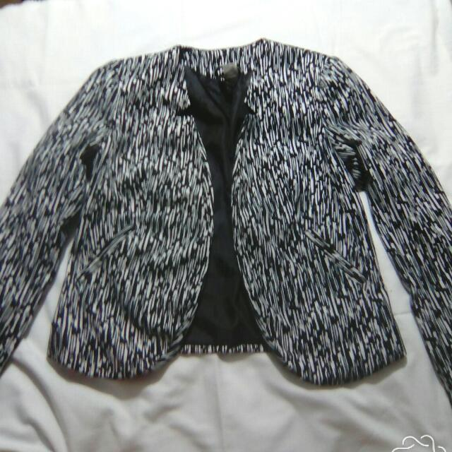 Black & White Coat