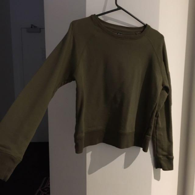 COTTON ON army sweatshirt