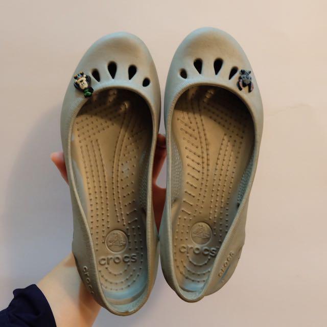Crocs Malindi Silver w/ 2pcs Jibbitz