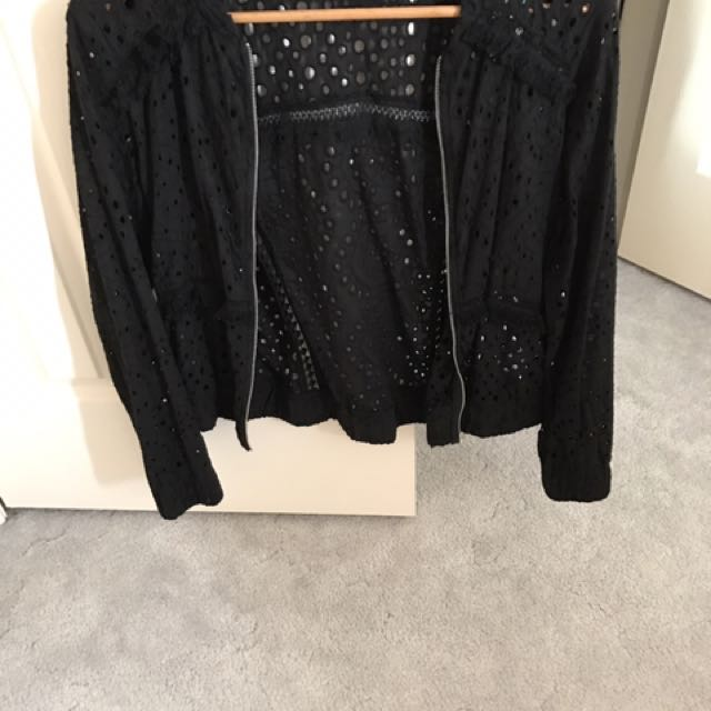 Dotti Black Jacket Cut Out