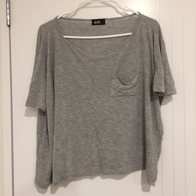 DOTTI Grey Top