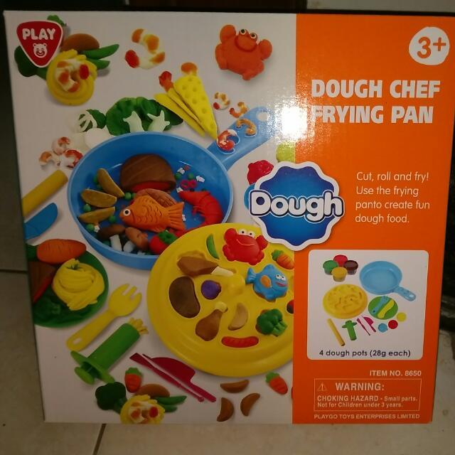 Dough Chef Frying Pan Merk Play