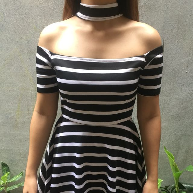 Dress with Choker