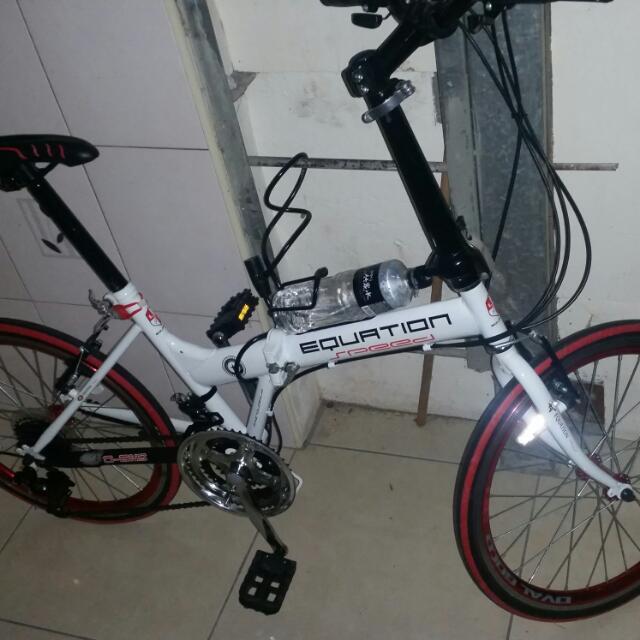 equation folding bike