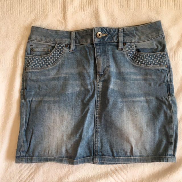 Esprit denim mini skirt