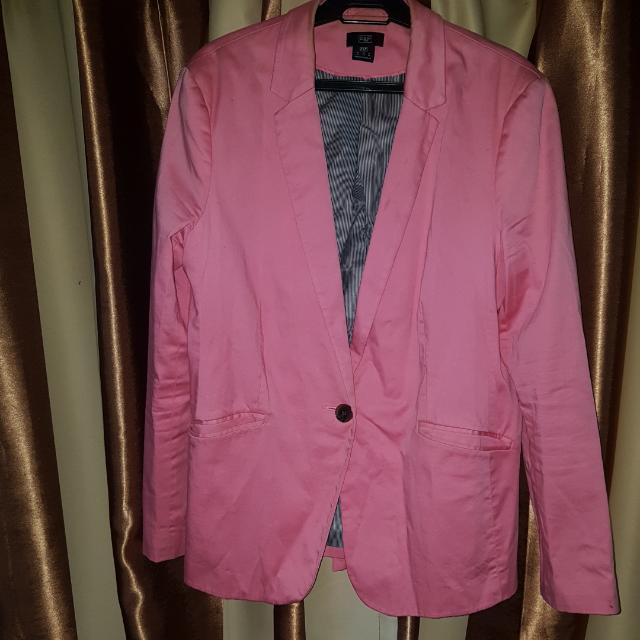 F&F Pink Blazer Plus Size