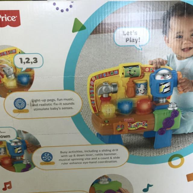 Fabulous Fisher Price Workbench Laugh And Learn Toys Games Inzonedesignstudio Interior Chair Design Inzonedesignstudiocom