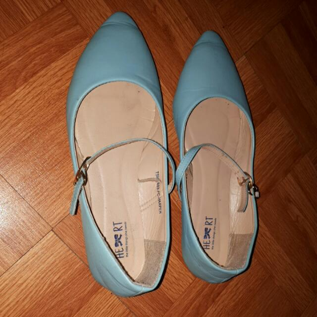 Flatshoes Blue 'TLTSN'