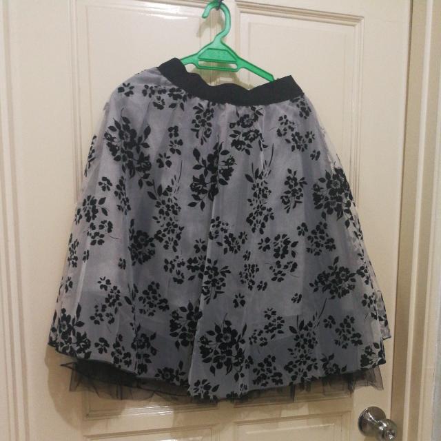 Flora Sheer Double Layer Dress