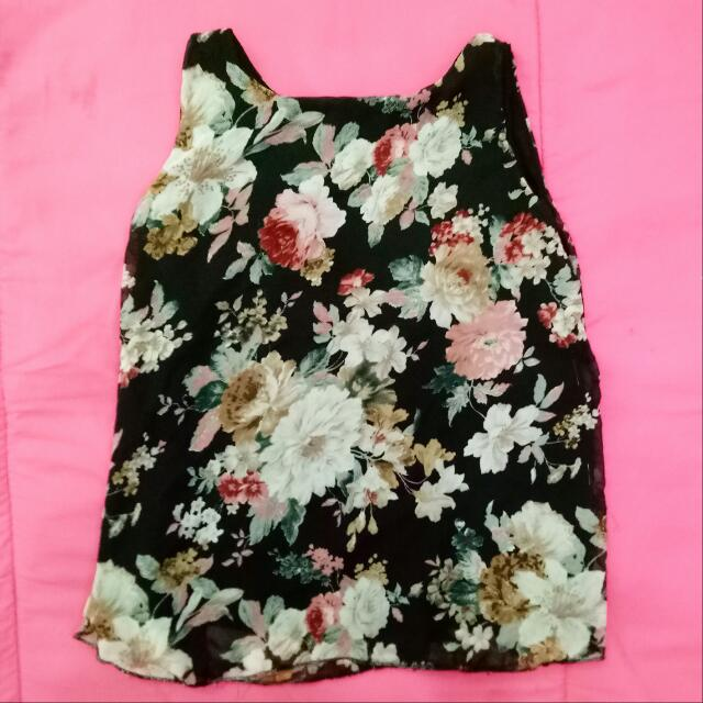 Floral Top / Small