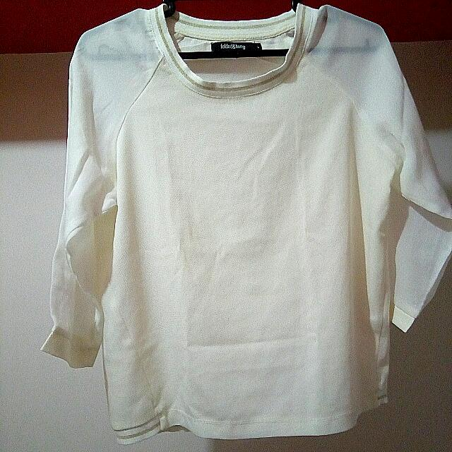 Folded And Hung Long Sleeves