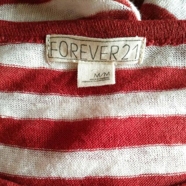 'Forever 21' Crop Top Shirt