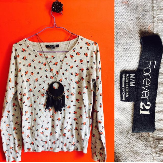 Forever 21 Knit Sweater Top