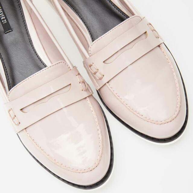 Forever 21 Patent Penny Loafers