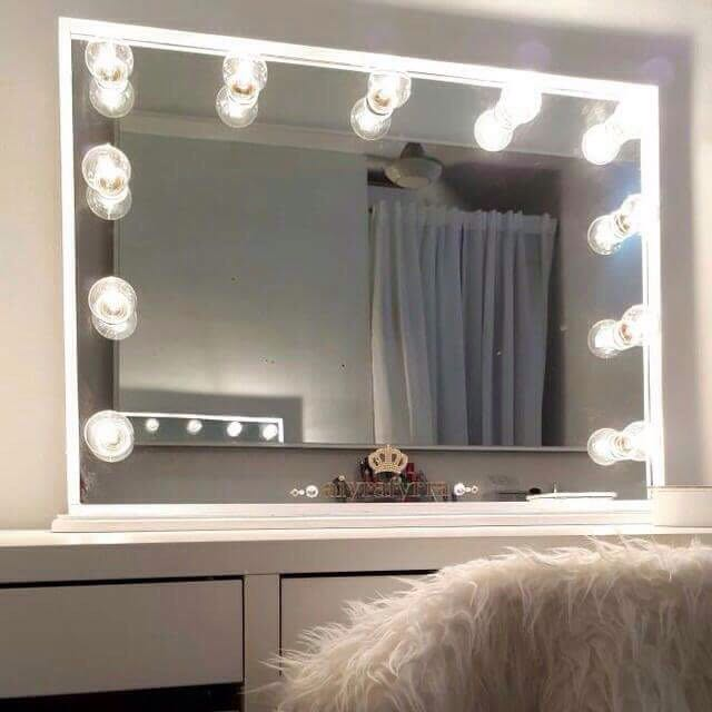 Vanity Mirror Professional With Personalized Name