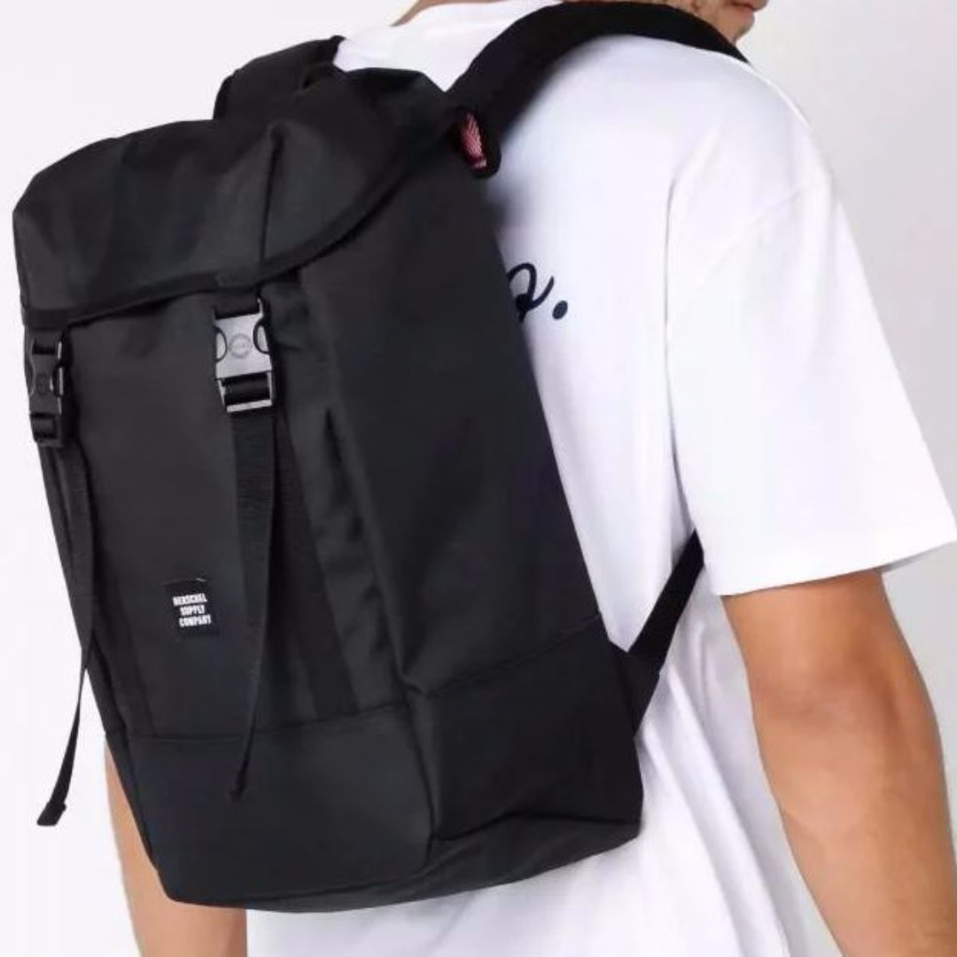 d7550362f0a Free Delivery  Brand New Herschel Supply Black  Brown Iona Backpack ...