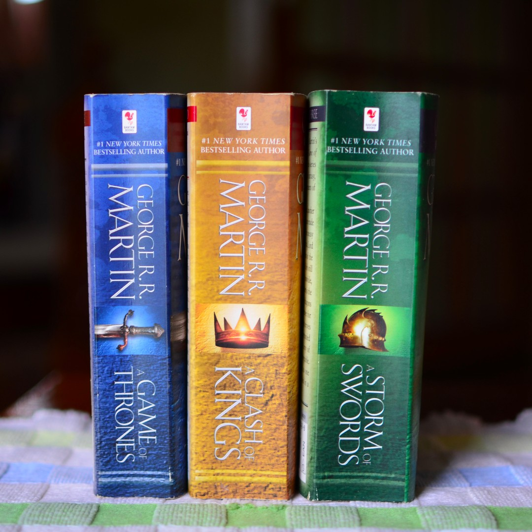 Game of Thrones Books 1-3