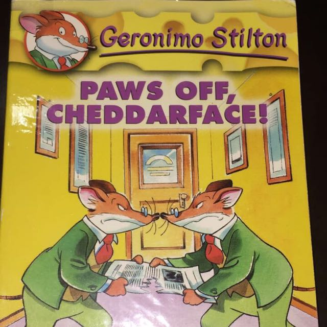Geronimo Stilton Volume 6, Paws Off, Cheddar Face! - Scholastic