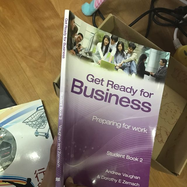 Get Ready For Business 英文課本