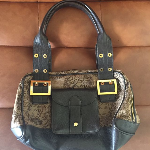 Gianni Versace - authentic Leather