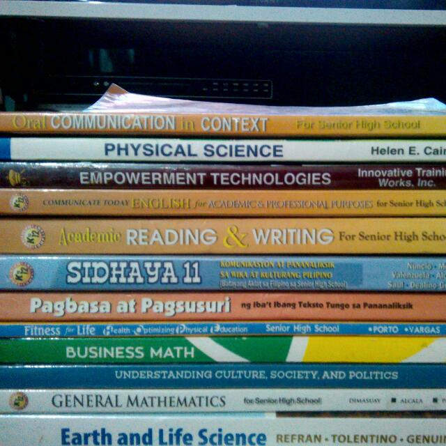GR 11 UC BOOKS