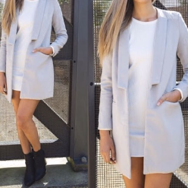 Grey Coat Jacket