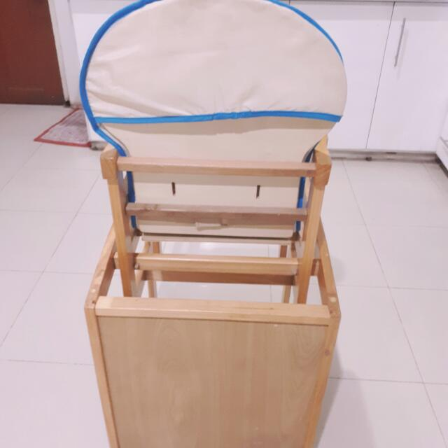 High Chair And Table And Chair Set For Toddler
