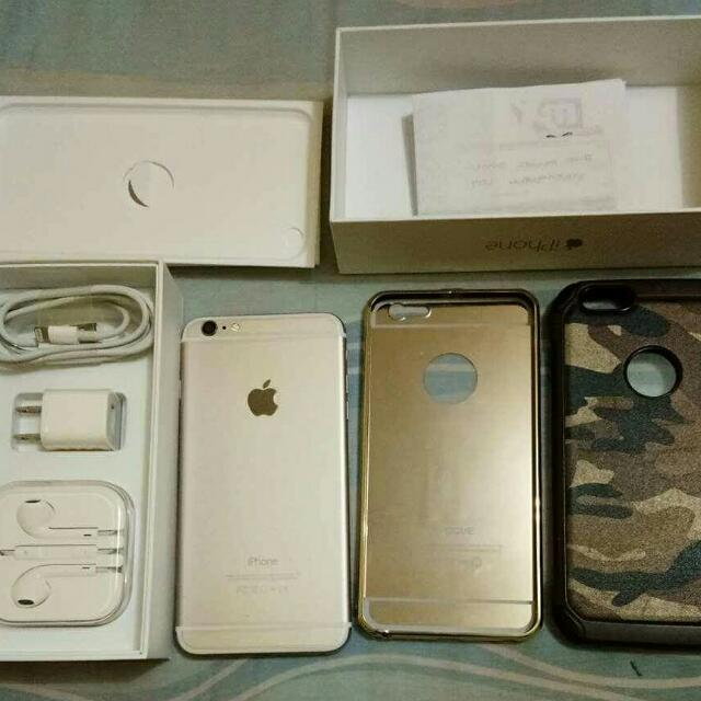 iphone 6 Plus 64gb Gold Open Line
