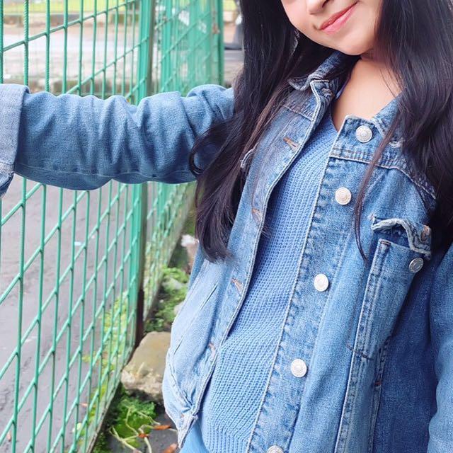 Jacket Jeans Topshop